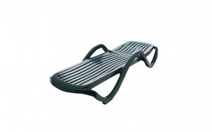 Sezlong plastic, SWBSA, Premium SWB2847, 191 x 70.5 x 40 cm, verde