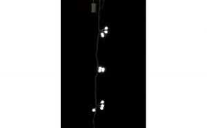 Ghirlanda luminoasa decorativa cu sfere