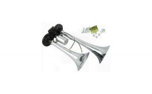 Claxon 12V/24V aer 2 pipe 30cm