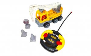 Camion cu macara tip lego radiocomanda