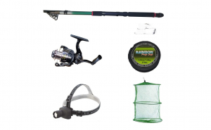 Pachet complet pescuit sportiv