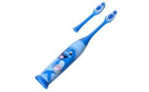 Periuta de dinti electrica pentru copii, model delfin, 3 x 19 cm, 1 rezerva