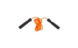 Coarda fitness/gimnastica. negru/portocaliu