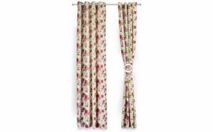 Set de 2 draperii decorative din 100% Bumbac 140x270 cm