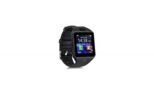 Ceas SmartWatch DZ09 Metalic Auriu- Telefon microSIM microSD camera