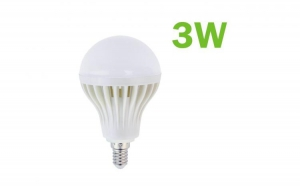 Bec LED SMD 3W economic dulie E14 6500K ( Lumina Rece) 220V Iluminare pentru casa C57, la 5 RON in loc de 15 RON