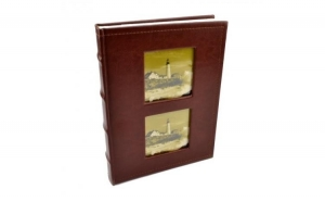 Album foto Lux personalizabil, 100 foto, format 10x15, Maro inchis