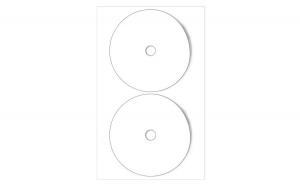 Sticker cd/dvd
