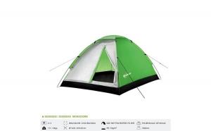 Cort pentru 2 persoane MonoDome, Camping