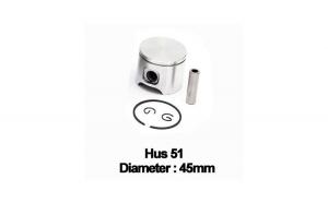 Piston complet Husqvarna 51 (45mm) -