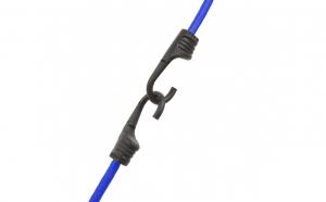 Set de cordeline de fixare profesionale - Albastru - 45 cm x 8 mm - 2 buc.  pachet