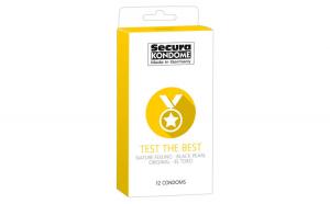 Prezervative Secura Test the Best, 12