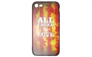 Husa Apple iPhone 7 Flippy Multicolor Mesaj Love