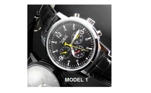 Cate un ceas pentru fiecare stil: Ceas Automatic Jaragar, alege unul dintre 10 modele diferite, la doar 149 RON in loc de 299 RON