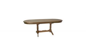 Masa din lemn de fag, 130cm restransa,