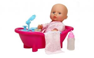 Bebelus cu cada si accesorii JJst