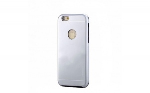 Husa Apple iPhone 7 Plus Motomo V2 Argintiu