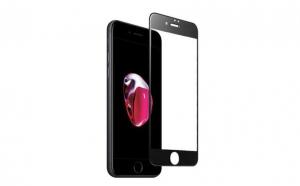 Folie sticla iPhone 8 Black