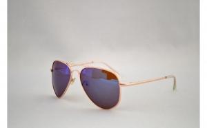 Ochelari de soare Aviator  - Albastru/Gold, la doar 25 RON in loc de 50 ROn