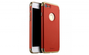Husa iPaky 3 in 1 elegant 3 piece iPhone 7 red
