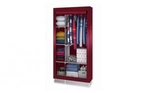 Dulap textil, incapator pentru haine, inchidere prin fermoar 105 x 45 x 175cm