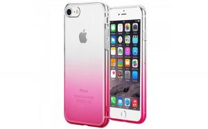 Husa TPU Gradient pentru iPhone 7, Roz
