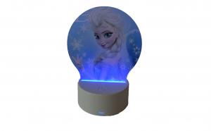 Lampa Veghe3D, Elsa / Frozen, 7culori