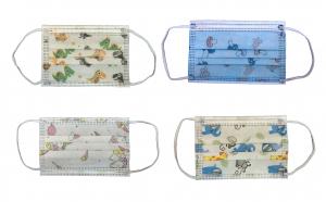 Cutie 50 Masti pentru copii unica folosinta 3 straturi filtrare bacteriana