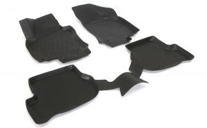 Covoare cauciuc stil tavita SKODA OCTAVIA II 2004-> ( 3D 0474 -  A10 )