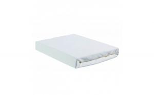 Cearsaf de pat 220 240cm, Percale alb