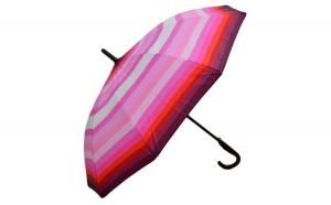 Umbrela ICONICUL automata Roz deschis multicolor 110cm diametru - anti-vant