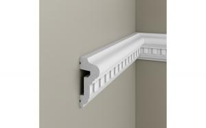 Brau decorativ din polimer rigid B10 - 6.4x2.8x200 cm