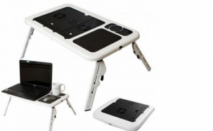 E-table Masuta Laptop notebook pliabila 2 coolere picioare ajustabile Model LD09