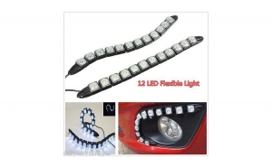 Lumini de zi flexible DRL, la doar 99 RON in loc de 150 RON