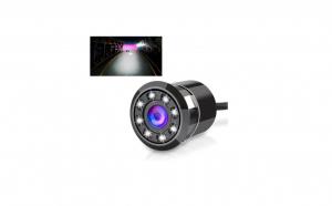 Camera Auto Marsarier Vedere noaptea, 8 Led, cablu 6 metri, cu Freza