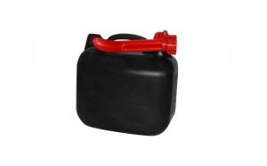 Canistra plastic benzina 20 litri negru, 4cars