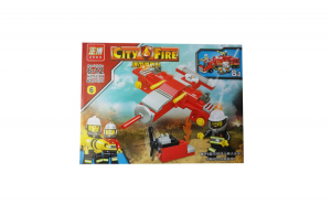 Set de constructii , City fire, 82 piese, 5514-6