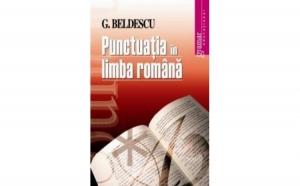 Punctuatia in limba romana, autor G. Beldescu
