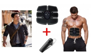 Aparat remodelare abdomen + Casca Bluetooth, model 2018