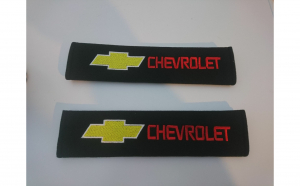 Set 2 Huse pentru centura de siguranta Chevrolet, premium