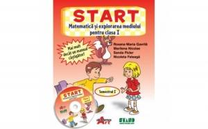START. Matematica si explorarea mediului pentru clasa I. Semestrul I, autor Roxana-Maria Gavrila, Marilena Nicolae, Sanda Picler, Nicoleta Feleaga