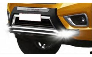 Bullbar poliuretan tip OEM cu DRL Nissan
