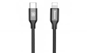 Cablu USB C   Lightning Baseus Yiven 1M black
