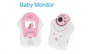 Camera supraveghere ( Baby Monitor) cu Monitor LCD video wireless cu IR Night Vision 2.4GHz, la doar 395 RON in loc de 799 RON