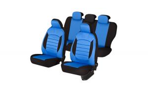 Set huse scaun urban albastru