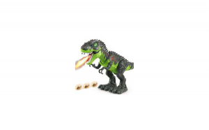 Dragonul dinozaur T-Rex scoate abur