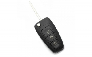 Carcasa tip cheie briceag Ford cu 3 butoane CC113