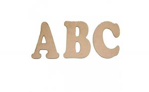 Alfabet Litere Mdf 120x100x3 mm