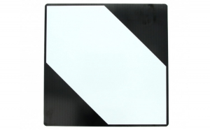 Tablita placa avertizare informare ADR LQ Zebra  Cargoparts