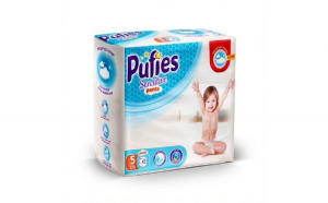 Scutece-Chilotel Pufies Sensitive Pants